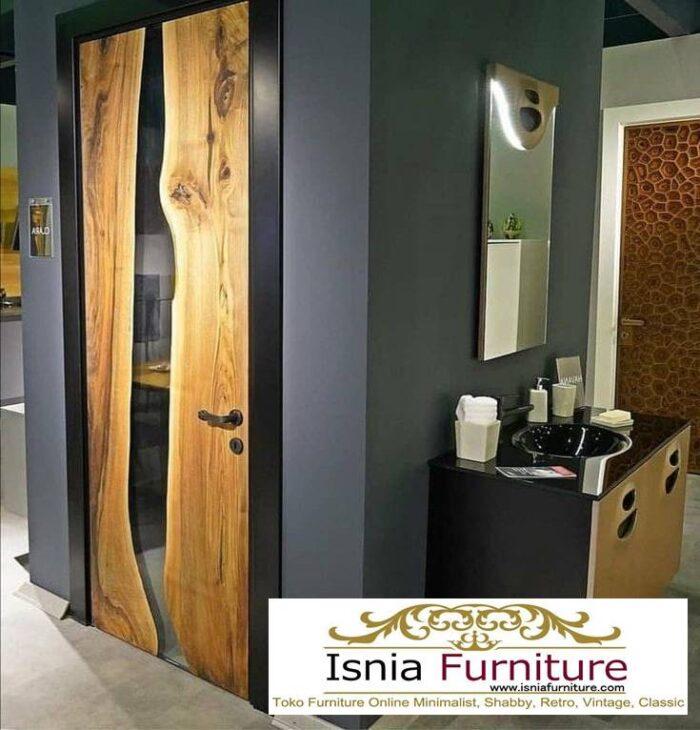 pintu-resin-dari-kayu-mewah-harga-terjangkau-700x730 Jual Pintu Kayu Trembesi Solid Harga Murah Terbaru
