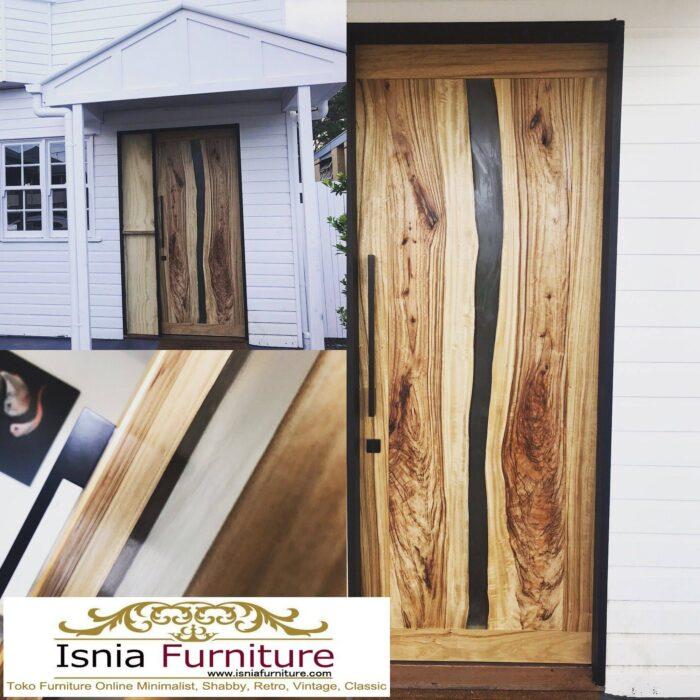 pintu-resin-dari-kayu-solid-harga-terjangkau-model-unik-700x700 Jual Pintu Kayu Trembesi Solid Harga Murah Terbaru