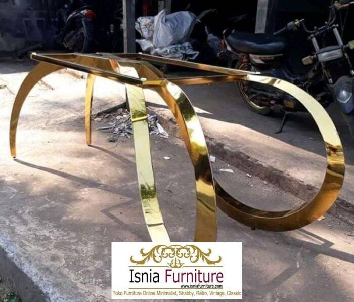 kaki-meja-stainless-gold-minimalis-termewah-700x597 Jual Kaki Meja Stainless Gold Mewah Kualitas Terbaik