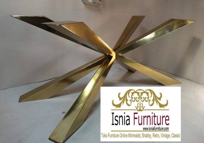 kaki-meja-stainless-paling-unik-anti-karat-700x490 Jual Kaki Meja Stainless Gold Mewah Kualitas Terbaik