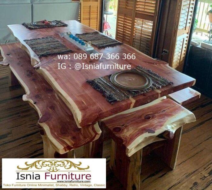 meja-kayu-besar-kayu-jati-solid-berkualitas-700x629 Jual Meja Kayu Lebar Harga Terjangkau Modern Terlaris