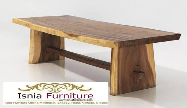 meja-kayu-besar-kayu-trembesi-solid-terlaris Jual Meja Kayu Lebar Harga Terjangkau Modern Terlaris
