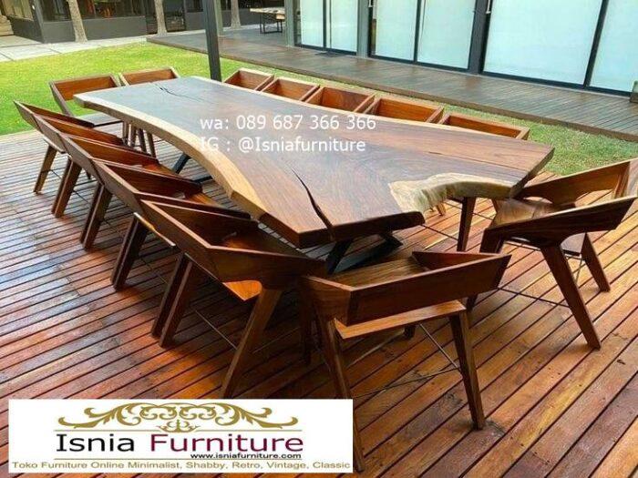 meja-kayu-besar-untuk-meja-makan-kayu-trembesi-solid-700x525 Jual Meja Kayu Lebar Harga Terjangkau Modern Terlaris