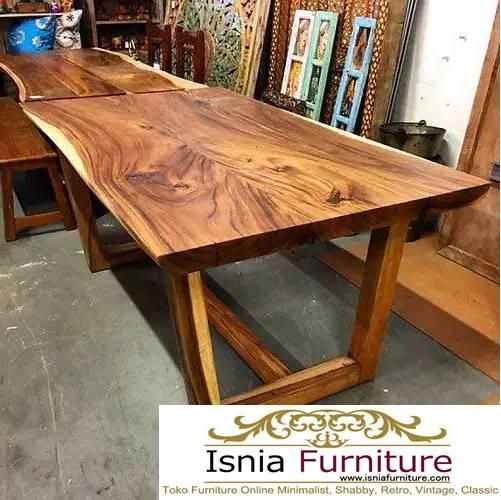meja-kayu-lebar-dari-kayu-trembesi Jual Meja Kayu Lebar Harga Terjangkau Modern Terlaris