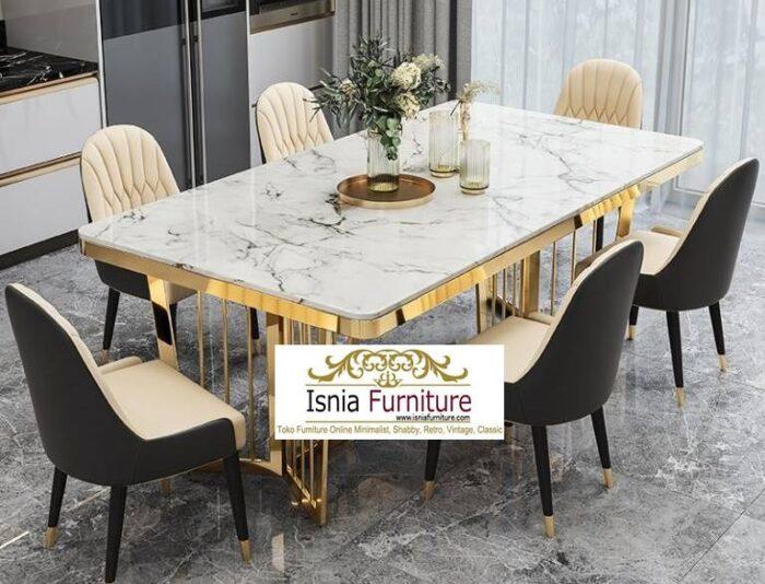 meja-makan-marmer-kaki-stainless-gold-termewah-terpopuler-700x534 Jual Kaki Meja Stainless Gold Mewah Kualitas Terbaik