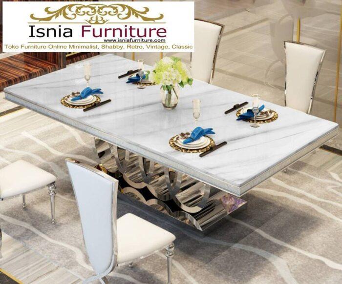 meja-makan-marmer-pekanbaru-termewah-model-terbaru-desain-minimalis-modern-700x582 Jual Meja Makan Marmer Pekanbaru Model Terbaru