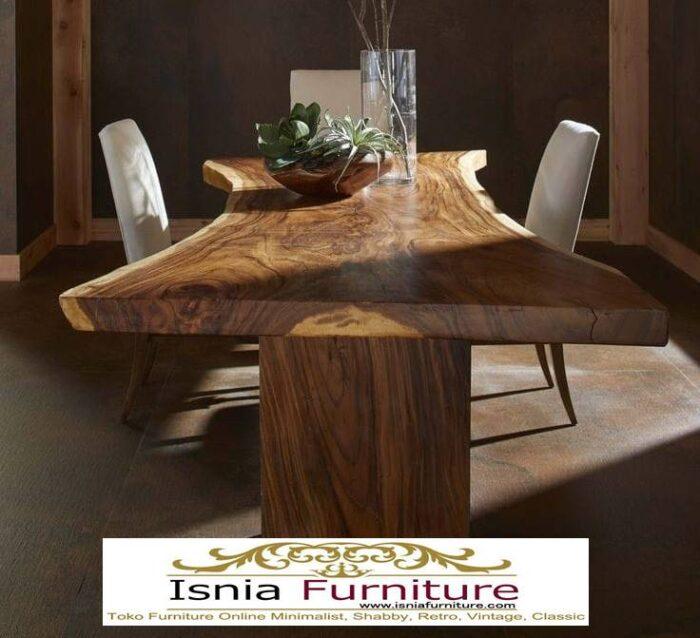 set-meja-makan-kayu-besar-700x638 Jual Meja Kayu Lebar Harga Terjangkau Modern Terlaris