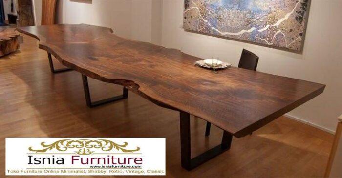 set-meja-makan-kayu-besar-harga-murah-terbaru-700x365 Jual Meja Kayu Lebar Harga Terjangkau Modern Terlaris