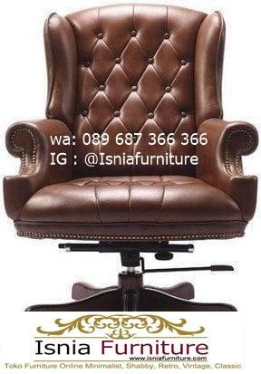 kursi-direktur-terbaik-desain-jok-kulit-asli-mewah Jual Kursi Direktur Terbaik