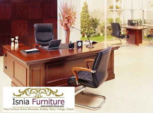 meja-direktur-kantor-dari-kayu-jati-solid-kualitas-terbaik Jual Meja Kantor Direktur Tangerang Harga Murah