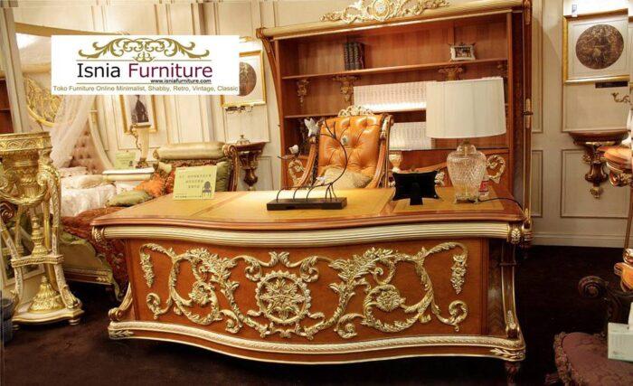 meja-direktur-kantor-kayu-mewah-ukiran-700x427 Jual Meja Kantor Direktur Tangerang Harga Murah