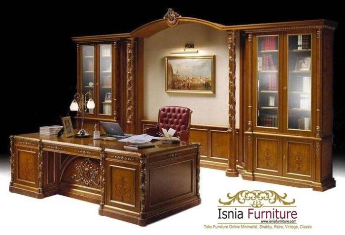 meja-kantor-direktur-kayu-jati-solid-termurah-700x478 Jual Meja Kantor Direktur Tangerang Harga Murah