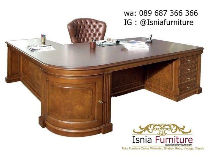 meja-kantor-direktur-kayu-solid-harga-murah-700x525 Jual Meja Kantor Direktur Tangerang Harga Murah