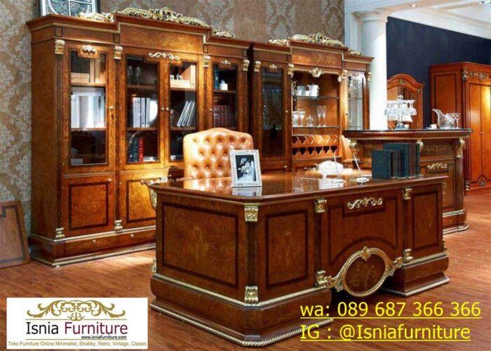 meja-kantor-direktur-tangerang-kayu-jati-solid-700x500 Jual Meja Kantor Direktur Tangerang Harga Murah