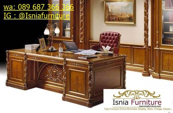 meja-kantor-direktur-tangerang-ukiran-mewah Jual Meja Kantor Direktur Tangerang Harga Murah