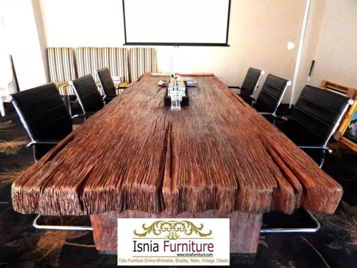 meja-kayu-lebar-kayu-solid-mahoni-700x525 Jual Meja Kayu Mahoni Utuh Tebal Solid Termurah