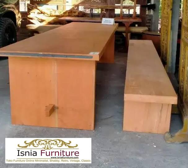 meja-kayu-mahoni-utuh-tebal-cocok-untuk-meja-makan Jual Meja Kayu Mahoni Utuh Tebal Solid Termurah