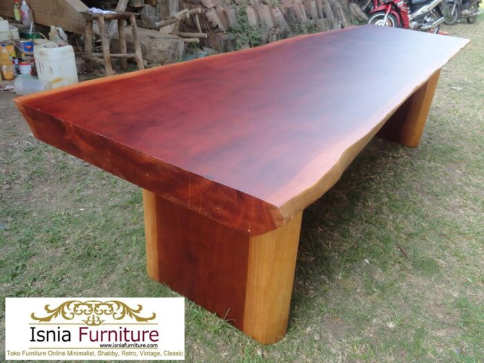 meja-kayu-mahoni-utuh-tebal-solid-berkualitas-700x525 Jual Meja Kayu Mahoni Utuh Tebal Solid Termurah