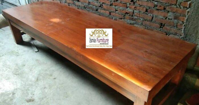 meja-kayu-mahoni-utuh-tebal-terpopuler-700x371 Jual Meja Kayu Mahoni Utuh Tebal Solid Termurah