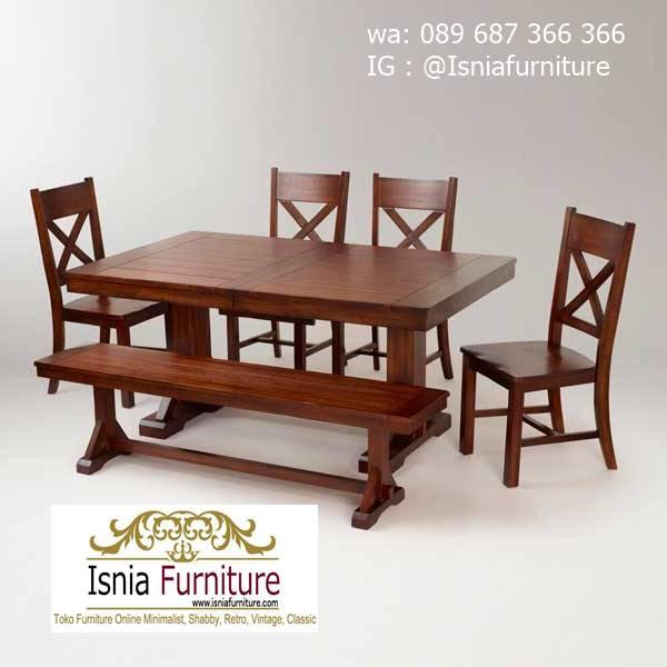 meja-kayu-mahoni-utuh-tebal-untuk-meja-makan-minimalis Jual Meja Kayu Mahoni Utuh Tebal Solid Termurah