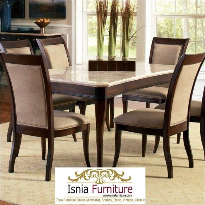 meja-marmer-import-untuk-meja-makan-desain-kaki-kayu-700x700 Jual Meja Marmer Import Modern Harga Murah