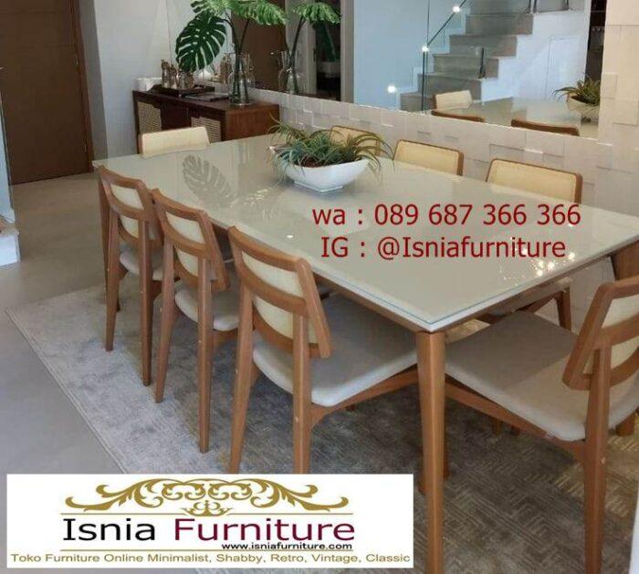 meja-marmer-kaki-kayu-cocok-untuk-meja-makan-700x629 Jual Meja Marmer Kaki Kayu Minimalis Modern Berkualitas