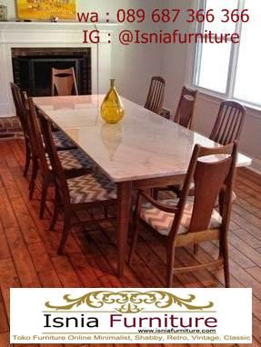 meja-marmer-kaki-kayu-cocok-untuk-meja-makan-terlaris Jual Meja Marmer Kaki Kayu Minimalis Modern Berkualitas