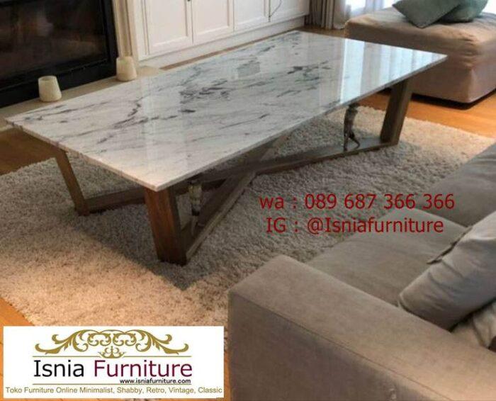 meja-marmer-kaki-kayu-cocok-untuk-meja-tamu-700x566 Jual Meja Marmer Kaki Kayu Minimalis Modern Berkualitas