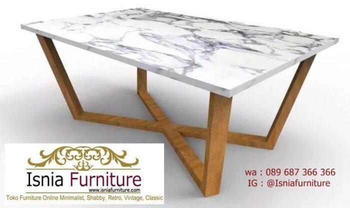 meja-marmer-kaki-kayu-minimalis-harga-murah-700x417 Jual Meja Marmer Kaki Kayu Minimalis Modern Berkualitas