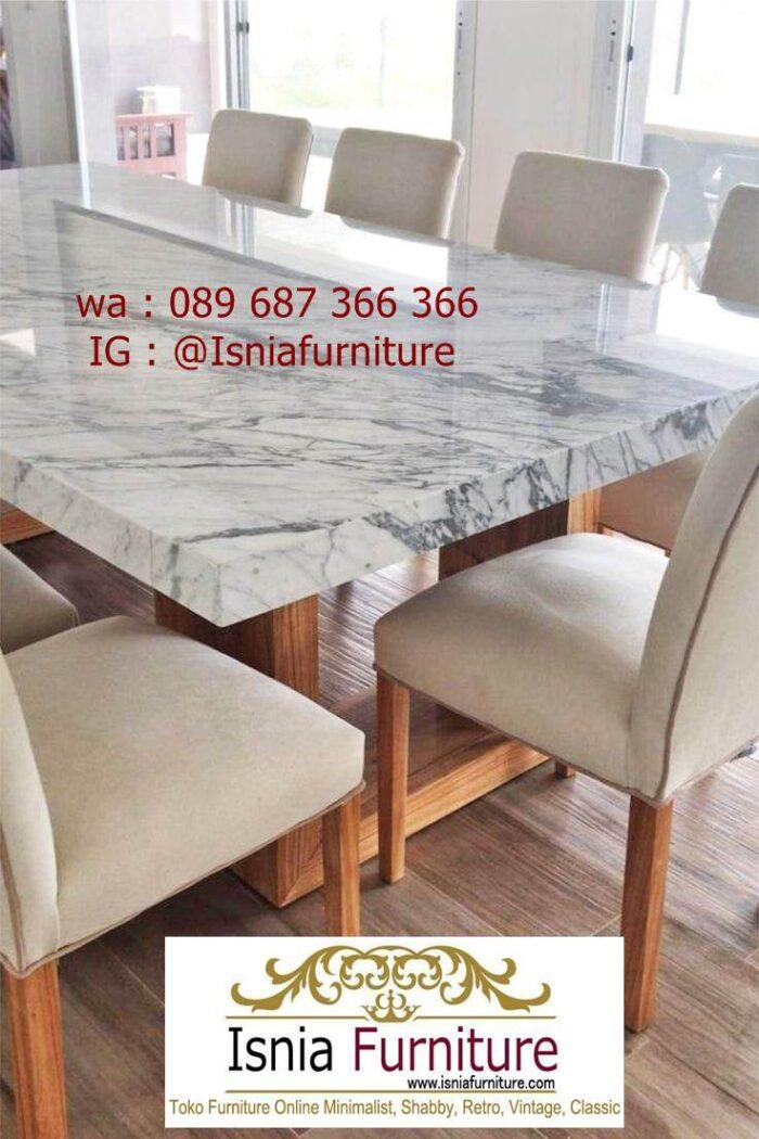meja-marmer-kaki-kayu-minimalis-solid-berkualitas-700x1050 Jual Meja Marmer Kaki Kayu Minimalis Modern Berkualitas
