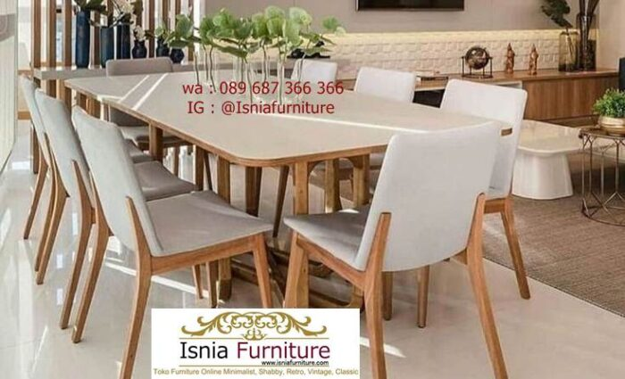 meja-marmer-kaki-kayu-minimalis-solid-kekinian-700x425 Jual Meja Marmer Kaki Kayu Minimalis Modern Berkualitas