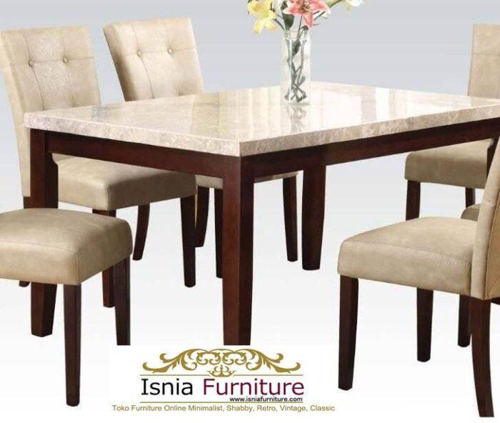 meja-marmer-kaki-kayu-minimalis-solid-terlaris-700x592 Jual Meja Marmer Kaki Kayu Minimalis Modern Berkualitas