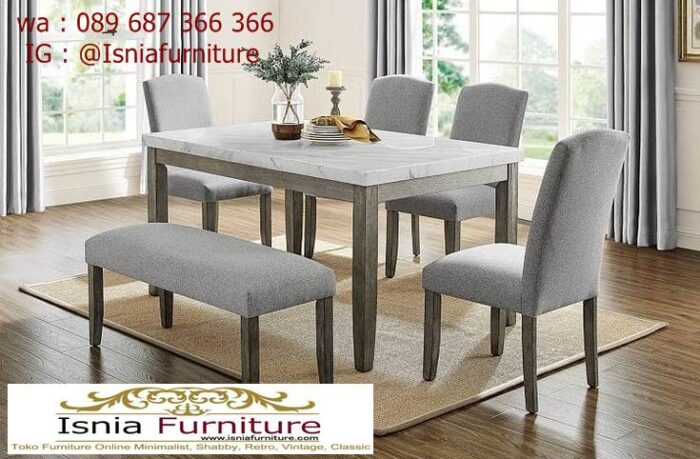 meja-marmer-kaki-kayu-solid-kualitas-terbaik-700x459 Jual Meja Marmer Kaki Kayu Minimalis Modern Berkualitas