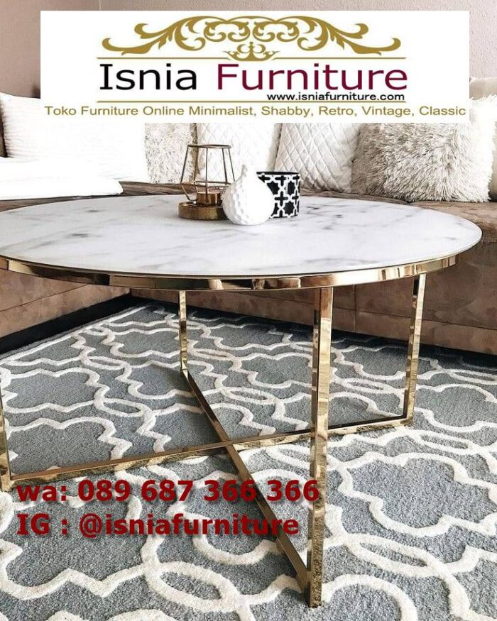 meja-sofa-marmer-bentuk-bulat-700x875 Jual Meja Sofa Marmer Unik Minimalis Modern