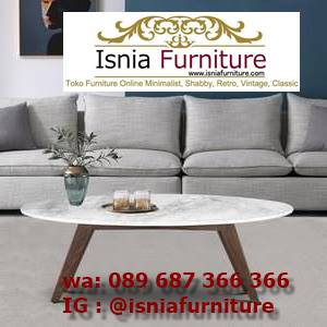 meja-sofa-marmer-minimalis-unik Jual Meja Sofa Marmer Unik Minimalis Modern
