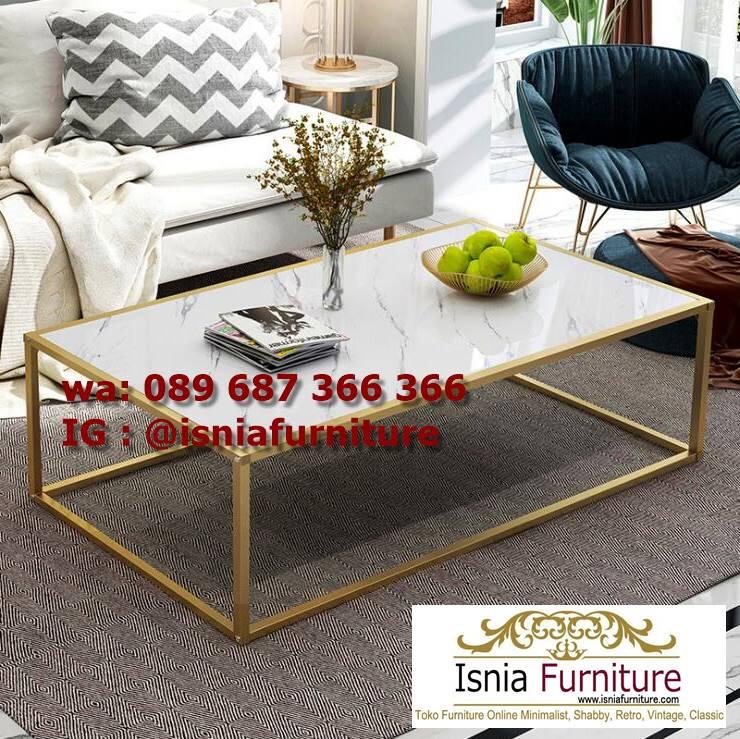 Jual Meja Sofa Marmer Unik Minimalis Modern