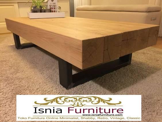 meja-balok-kayu-trembesi-model-terbaru-kekinian Meja Balok