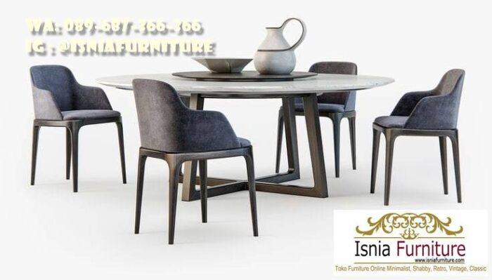 meja-marmer-bulat-besar-harga-murah-700x399 Meja Marmer Bulat Besar Minimalis Untuk Meja Makan