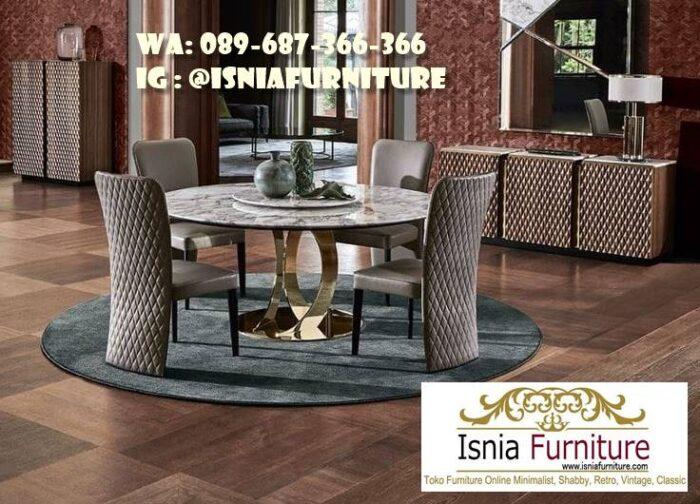 meja-marmer-bulat-besar-kualitas-terbaik-700x504 Meja Marmer Bulat Besar Minimalis Untuk Meja Makan