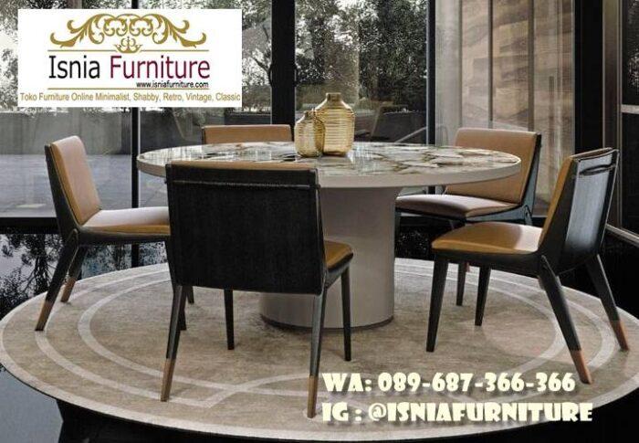 meja-marmer-bulat-besar-untuk-meja-makan-murah-700x485 Meja Marmer Bulat Besar Minimalis Untuk Meja Makan