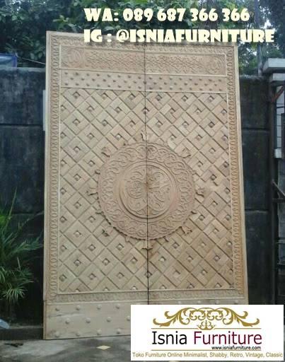 pintu-masjid-nabawi-dari-kayu-jati-terbaik Jual Pintu Masjid Nabawi Kayu Jati Mewah Murah