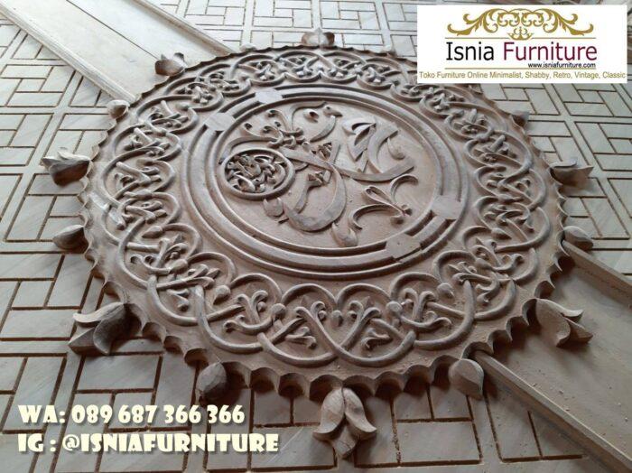 pintu-masjid-nabawi-kayu-jati-ukiran-kaligrafi-mewah-700x524 Jual Pintu Masjid Nabawi Kayu Jati Mewah Murah