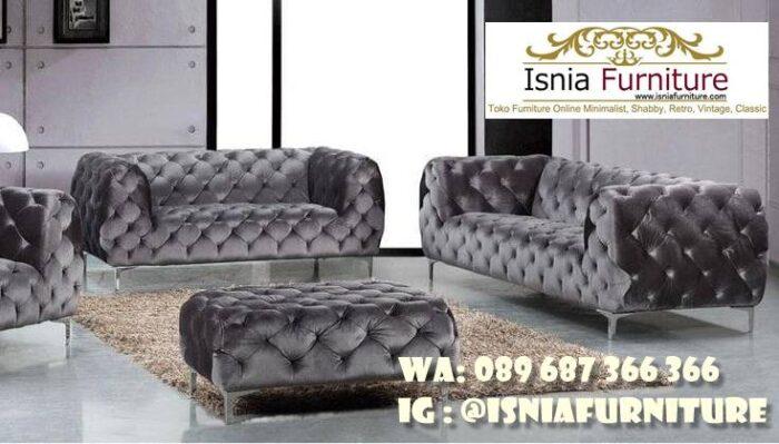 sofa-elegan-minimalis-desain-kaki-stainless-steel-700x399 Sofa Elegan Minimalis Murah Paling Terpopuler