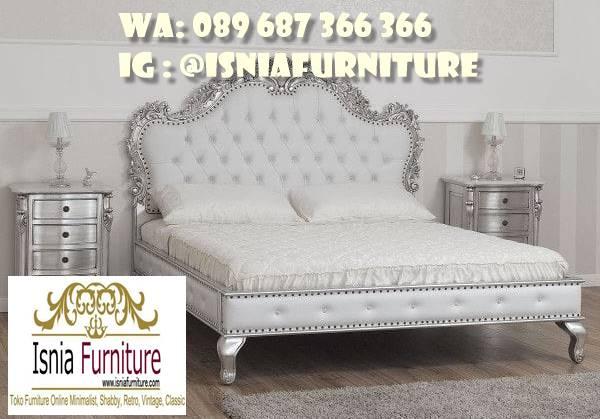tempat-tidur-klasik-eropa-desain-cat-duco-putih Jual Tempat Tidur Klasik Eropa Paling Termewah