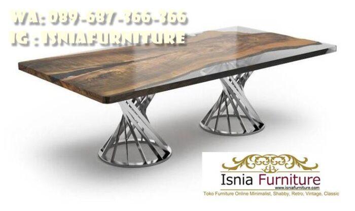 kaki-meja-makan-besi-stainless-unik-murah-700x416 Kaki Meja Makan Besi Anti Karatan Terjangkau