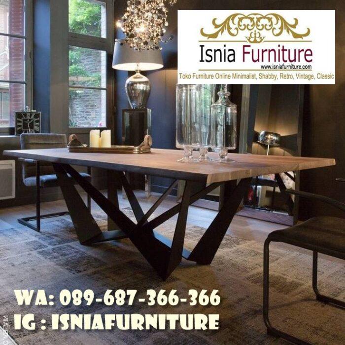 kaki-meja-makan-besi-trembesi-solid-minimalis-700x699 Kaki Meja Makan Besi Anti Karatan Terjangkau