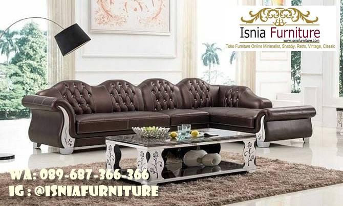 sofa-l-mewah-harga-terjangkau Sofa L Mewah Luxury Klasik Harga Terjangkau