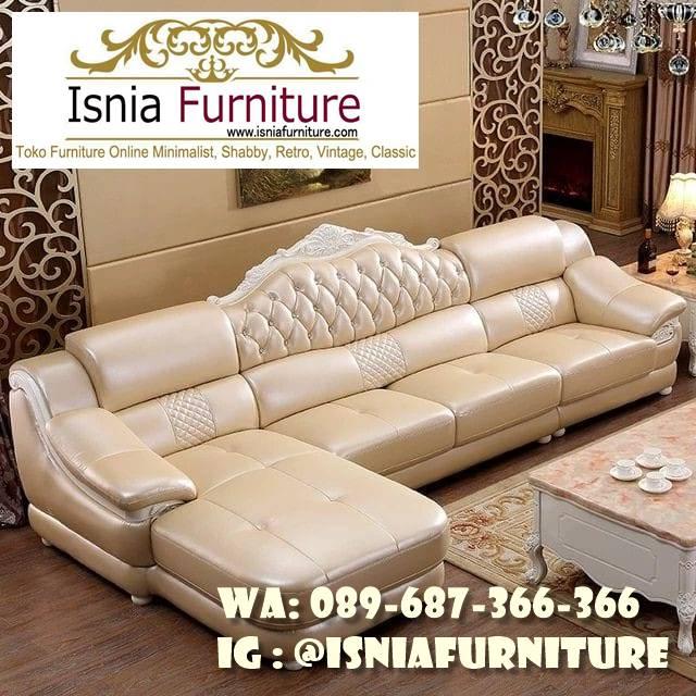 sofa-l-mewah-luxury-klasik-kualitas-terbaik Sofa L Mewah Luxury Klasik Harga Terjangkau