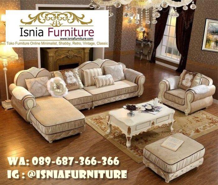 sofa-l-mewah-paling-populer-700x595 Sofa L Mewah Luxury Klasik Harga Terjangkau