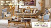 Sofa Mewah Warna Gold Cat Duco Harga Terjangkau